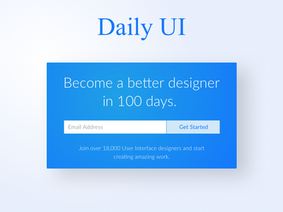Daily UI 100   Daily UI Landing Page daily ui landing page landing page 100 daily ui dailyui