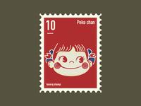 Peko chan stamp