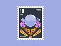 Pinball stamp