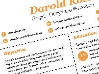 Resume 2013 resume 2013 graphic design circle