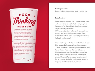 Cup Copy branding storytelling content copy copywriting