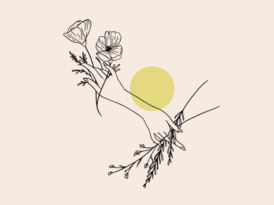 Coalesce Zine Summission graphicdesign vector floral design marker digital illustration sketch digital pastel micron pen drawing illustration