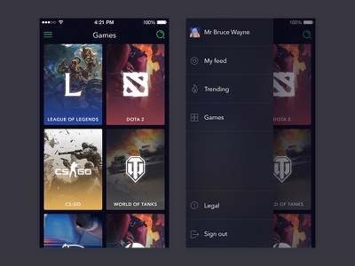 Jist.tv Mobile App esport app mobile app platform gameplay stream game highlight video e-sport esport jist.tv