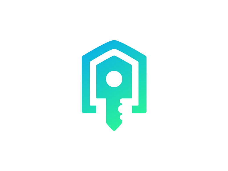 Warehouse Logo esports csgo icon symbol identity branding logo lock key house warehouse skin