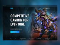 Mogul Arena Homepage UI