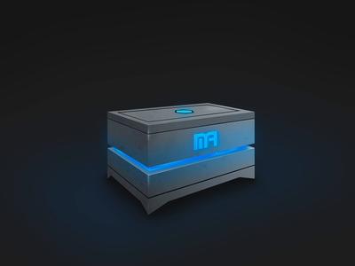 Esports Gamification Reward Box mystery mystery box unbox reward surprise gamification illustration 3d crate box csgo design gaming esports