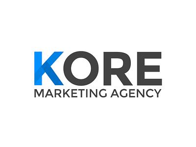 Kore Logo logo branding design clean
