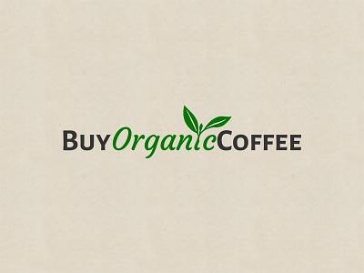 Buy Organic Coffee Logo organic coffee branding logo clean design visual
