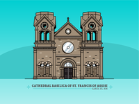 Cathedral Basilica of Francis of Assisi — Santa Fe, NM