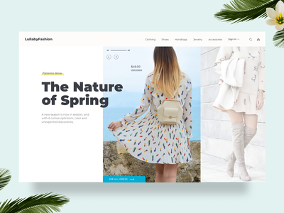 Gallery to product information interaction challenge interaction interface dresses principle motion design ux design ui design fashion shopping ecommerce