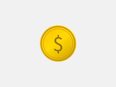Pure HTML/CSS Coin with Hover Effect