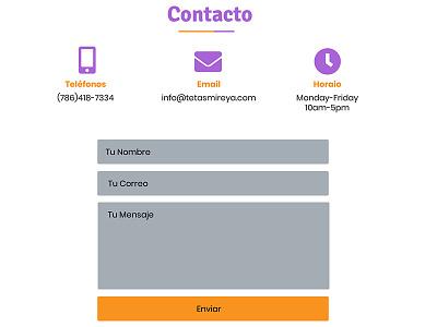 Venezuelan Popsicle fields contact contact form wix