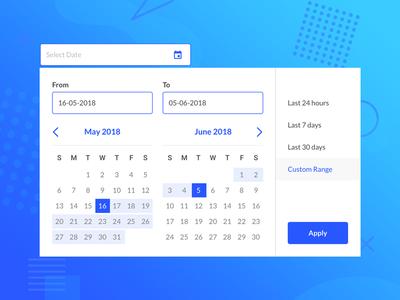 Date Picker date selector date range date picker app ui ux design
