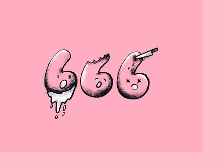 Inktober 666 Pattern