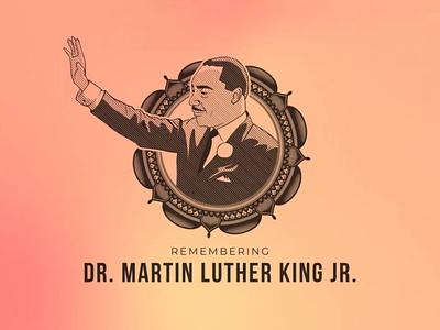 MLK Day Bumper mandala bumper jr king luther martin day mlk animation