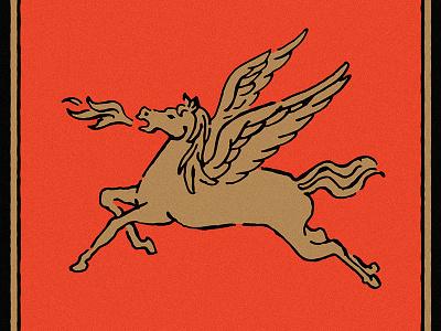 Pegasus danilo mancini sailor danny mithology mith pegasus vintage