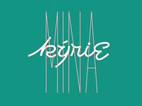 Mina - KYRIE for Italianism contest DIECI COPERTINE