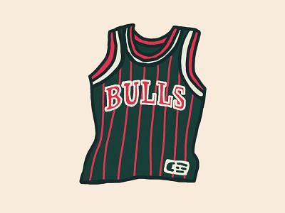 Jersey nba pippen mj chicago chicago bulls bulls drawing hoops basketball illustration