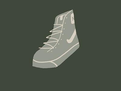alt shoes shoes store illustration