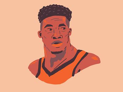 Giannis Antetokounmpo giannis bucks nba hoops drawing portrait basketball illustration