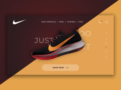 Nike justdoit nike shoes nike air nike landing page website design webdesign corporate branding ux ui design uxdesign uiux uidesign