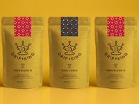 Drip King Coffee Packaging