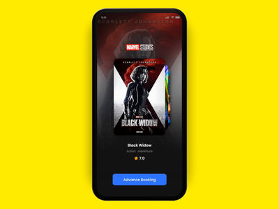 Movie ticket booking Interaction movie app 2020 trend android inspiration web dribbble trend ios app ui design ux