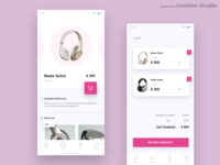 Product Page & Cart Screen Inspiration
