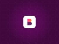 B logo icon design