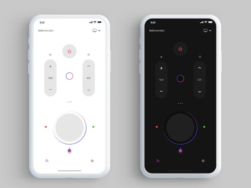 Smart controller remote app iot remote control smart controller dribbble micro animation ios android app ui design ux