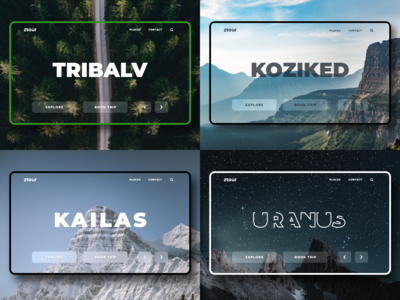 Cool Landing Page Concepts