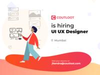 Coutloot is hiring UI UX Designer