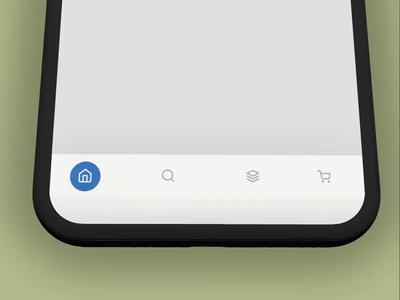 Bottom Navigation Popup micro-Interaction ios android app micro interactions micro animation inspiration dribbble trend web app ui design ux