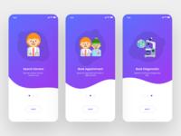 Onboarding Screens For Healthcare App