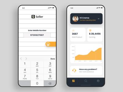 Amazon Vendor Dashboard Concept