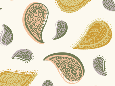 Illustrated Pattern Design drawing design fun illustration pattern design pattern