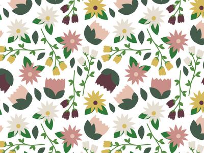 Floral pattern design brand fun cute design flower pattern flower illustration floral pattern florals floral flower illustrator illustration graphic design pattern art pattern