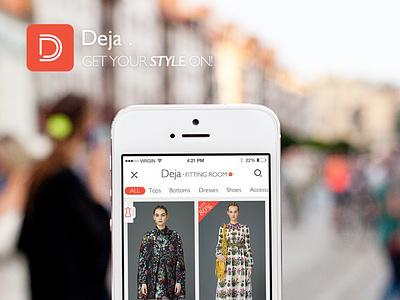 Deja fashion interface ui shop fashion