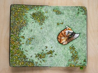 Sleeping Fox - Moleskine