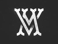 Vancouver Mounties Monogram