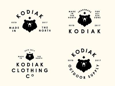 Kodiak alaska century logo kodiak north lockup bear