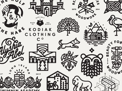 2017 Year in Review identity portfolio showcase mark logo