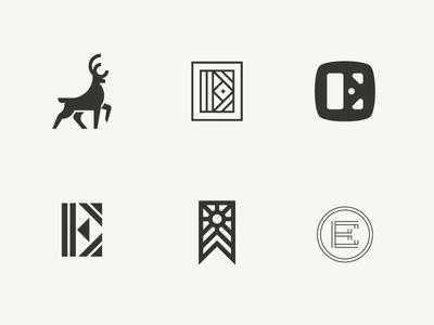 Emerson Exploration vancouver home elk e logomark exploration contracting logos