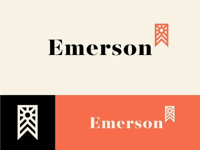Emerson 2 vancouver home e logomark exploration contracting logos