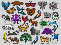 Animals in Color