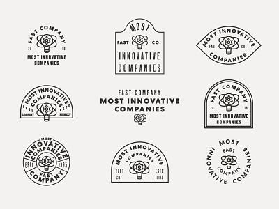 FastCo Most Innovative Companies 1 lockup vancouver illustration icon logo process badge