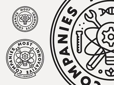 FastCo Most Innovative Companies 2 responsive logo lockup vancouver illustration badge logo