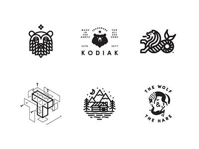 LogoLounge 11 Selects logo badge letter cabin wolf merlion bear vancouver logo lounge logos