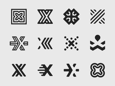 X marks the spot - Concepts logo design vancouver design branding brand identity mark symbol icon logo insurance