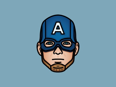 I can do this all day. captain america villains vector movies mcu marvel illustration icon heroes